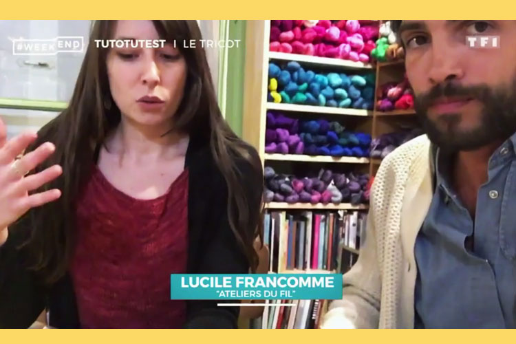 Cours Tricot - Emission Week-End TF1