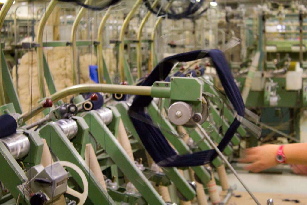 "Echeveau devenant bobine 2 1024x683 - Fonty : la filature ""Made in Creuse"""