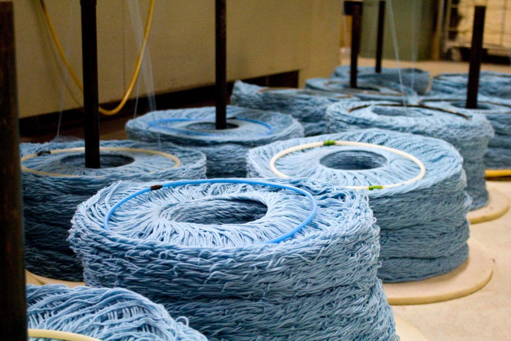 "en cours de filage 1024x683 - Fonty : la filature ""Made in Creuse"""