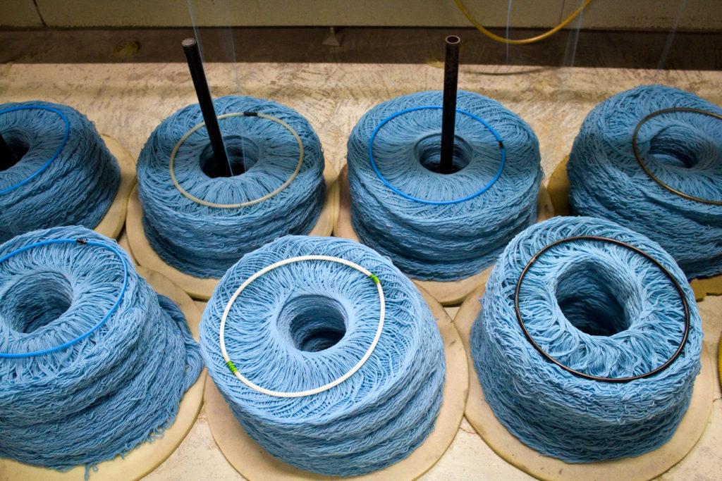 "en cours de filage 2 1024x683 - Fonty : la filature ""Made in Creuse"""