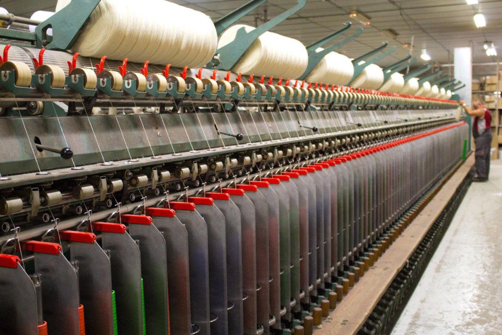 "filage 1024x683 - Fonty : la filature ""Made in Creuse"""