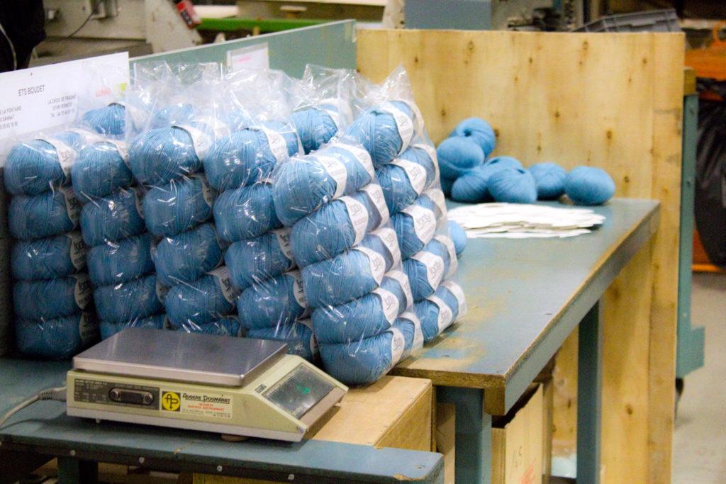 "pelote bb merinos 2 1024x683 - Fonty : la filature ""Made in Creuse"""