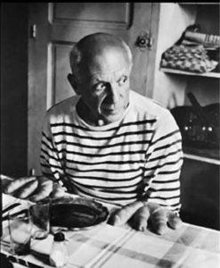 Pablo Picasso 247x300 - Inspiration Marinière : du matelot à nos tricots