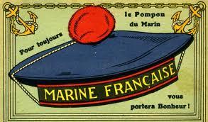 Pompon du marin - Le pompon du bonnet Hivernal (et un peu d'Histoire !)