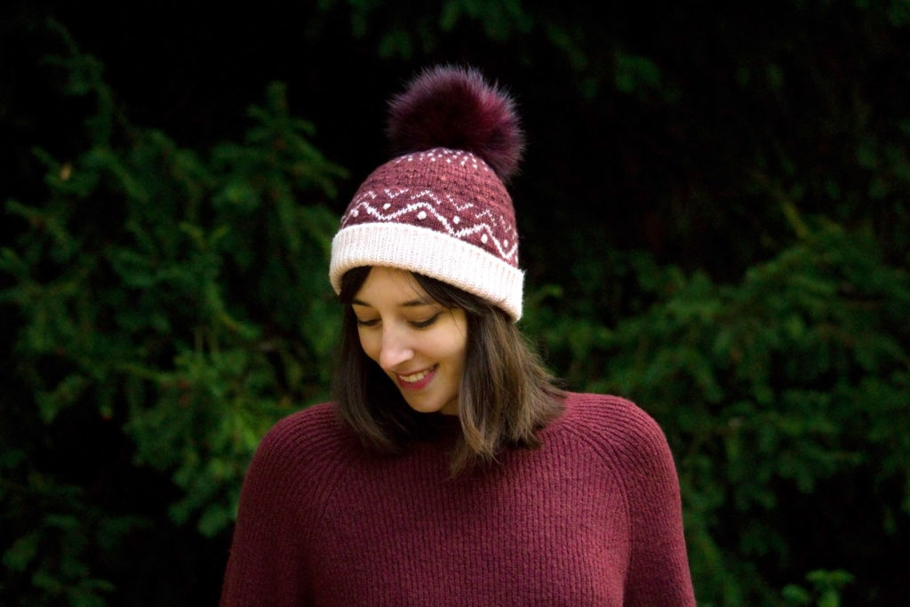 web hivernal porte 07 1024x683 - Le pompon du bonnet Hivernal (et un peu d'Histoire !)
