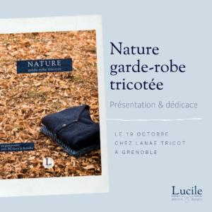 evenement livre Lucile 300x300 - Présentation & dédicace : livre Nature