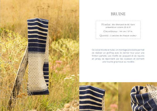livre nature col bruine1 600x424 - Nature garde-robe tricotée (livre)