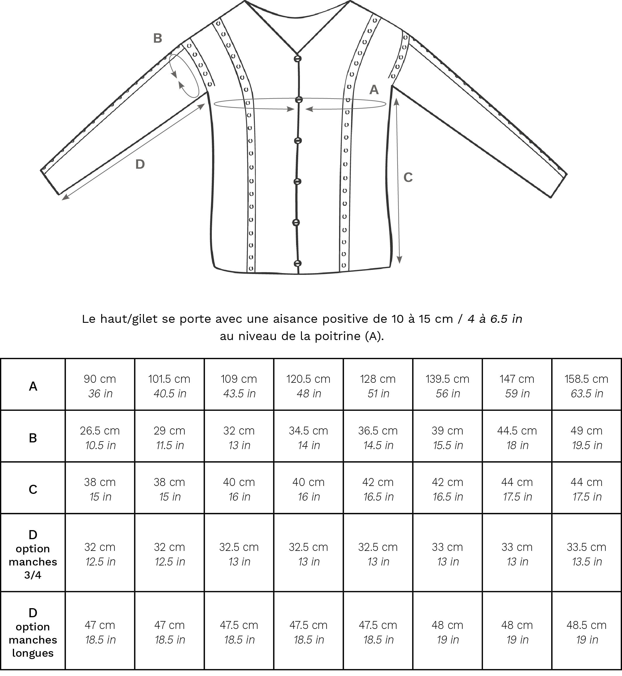 Dolce Seta dimensions FR - Dolce Seta