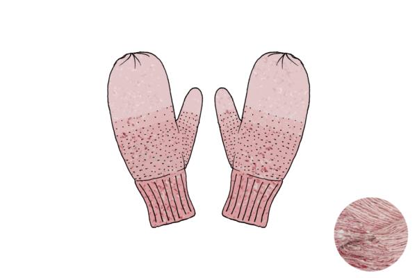 lichen rose 600x400 - Fil moufles Lichen