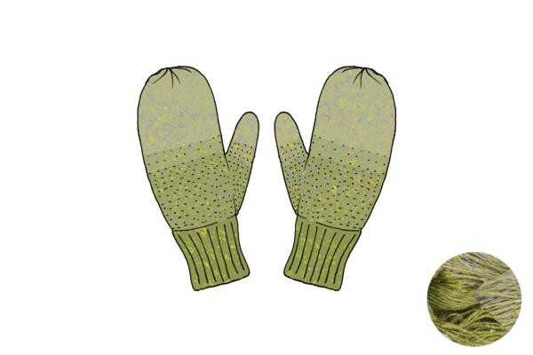lichen vert fleuri 600x400 - Fil moufles Lichen